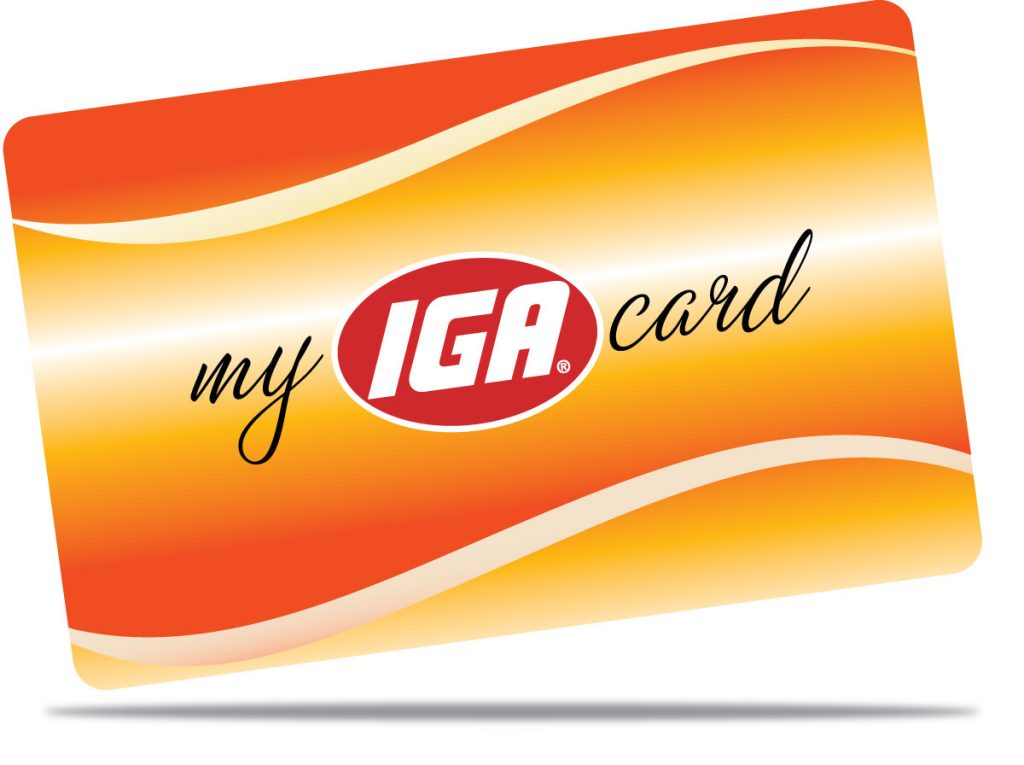 My Iga Card