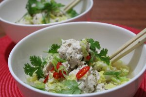 Recipe Ginger And Coriander Turkey Meatballs01