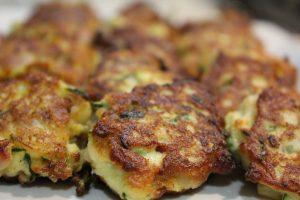 Recipe Zucchini Ham And Cheese Fritters01