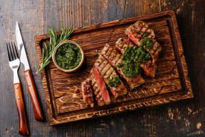 Recipe Cape Grim Rib Eye With Chimichurri Sauce01