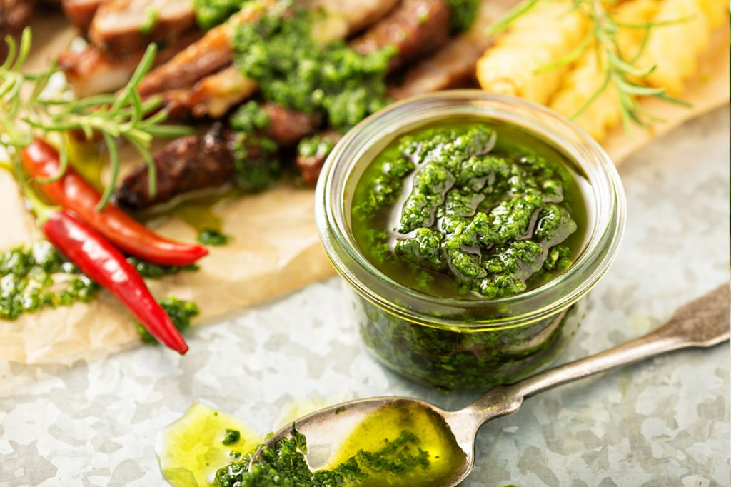Recipe Cape Grim Rib Eye With Chimichurri Sauce02