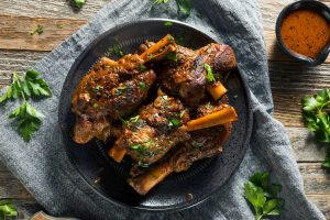 Recipe Braised Lamb Shanks