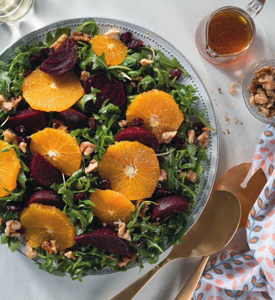 Recipe Beetroot Orange Walnut Salad