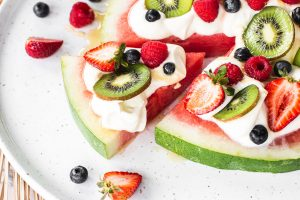 Iga Easter Watermelon Pizza