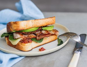 Recipe Barbecued Bacon Sanga